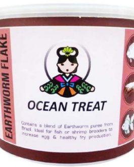 Ocean Treat Earthworm Flake(100 gm)